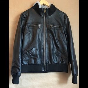 Hot topic leather jacket